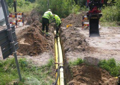 Kabelgrävning